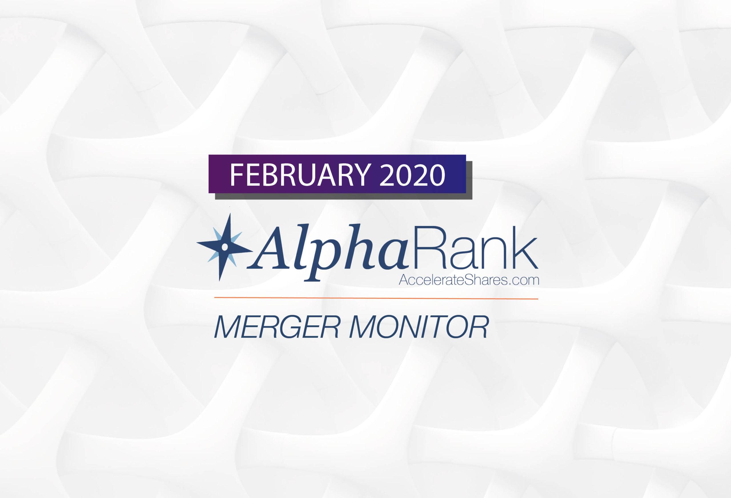 Accelerate Financial Technologeis Inc. AlphaRank Merger Monitor