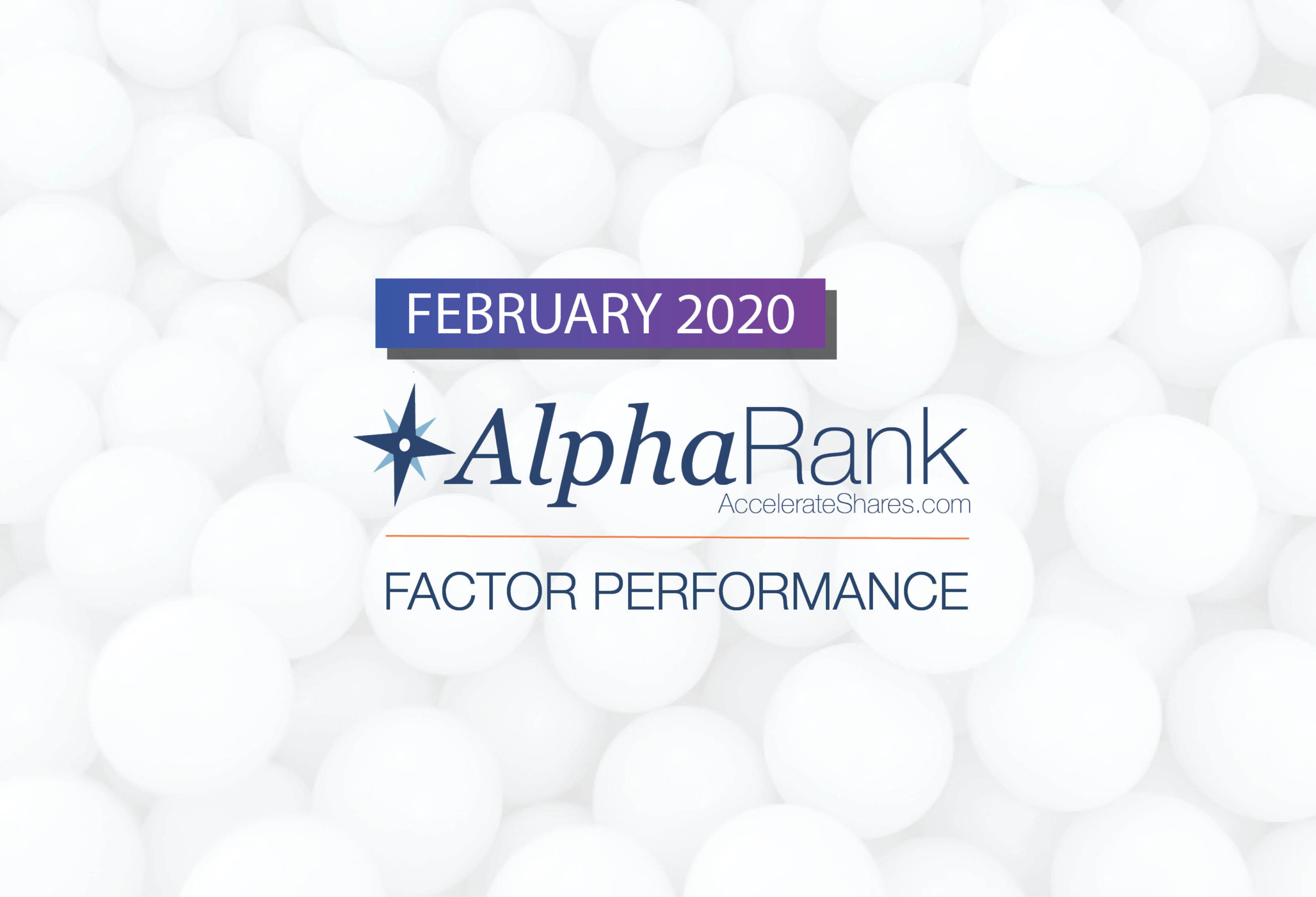 AlphaRank Factor Performance— February 2020