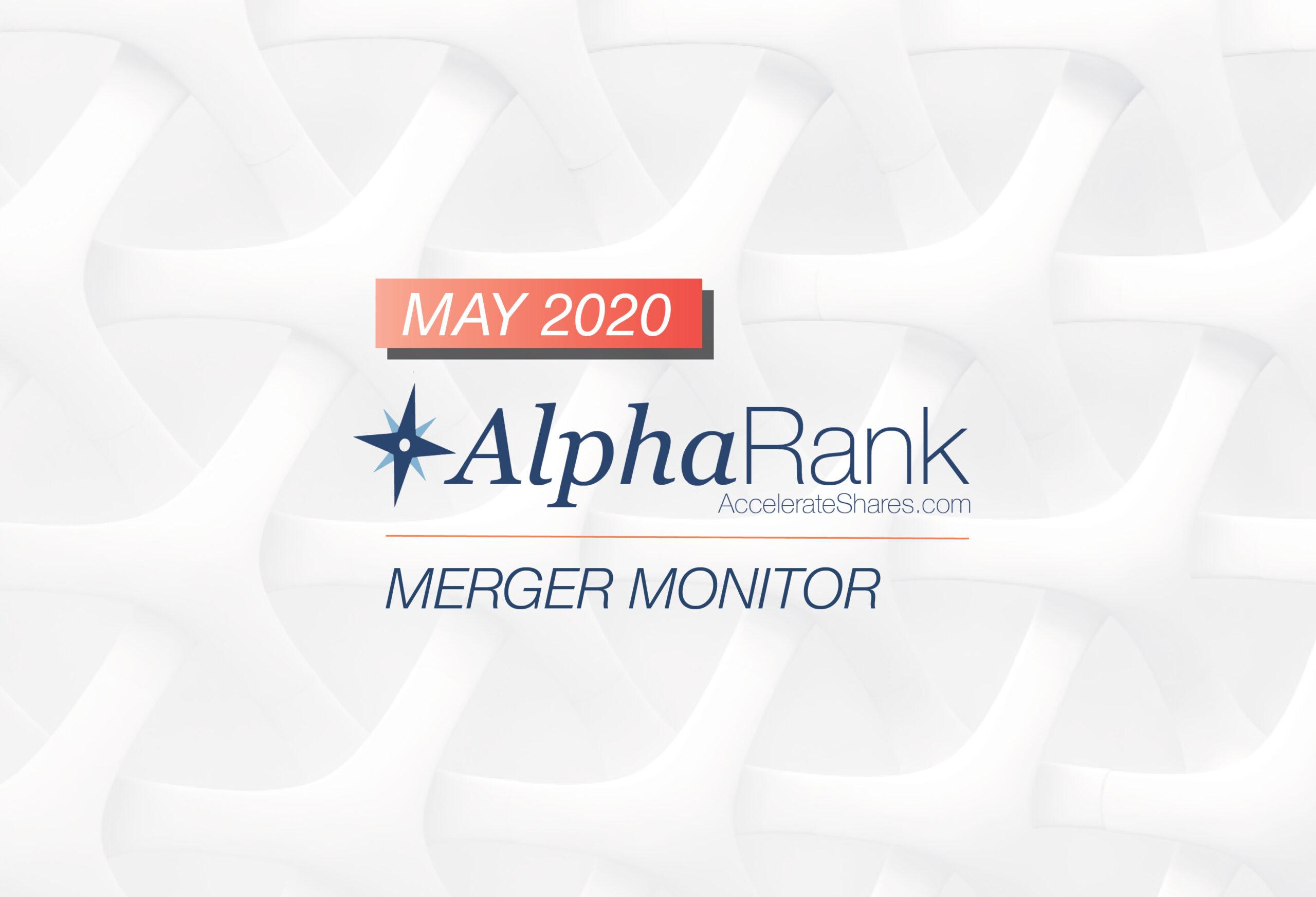 AlphaRank Merger Monitor – May 2020
