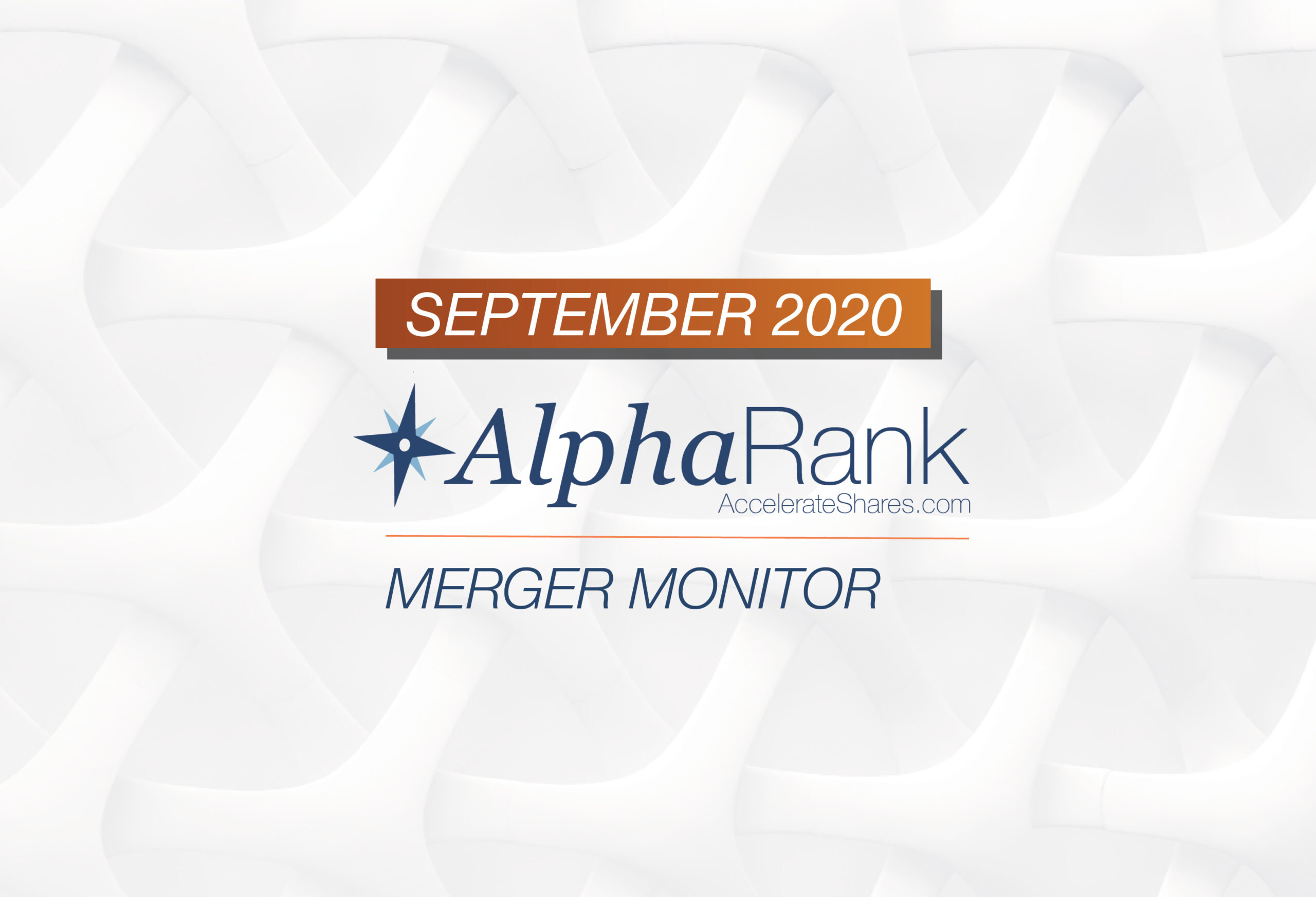 AlphaRank Merger Monitor – September 2020