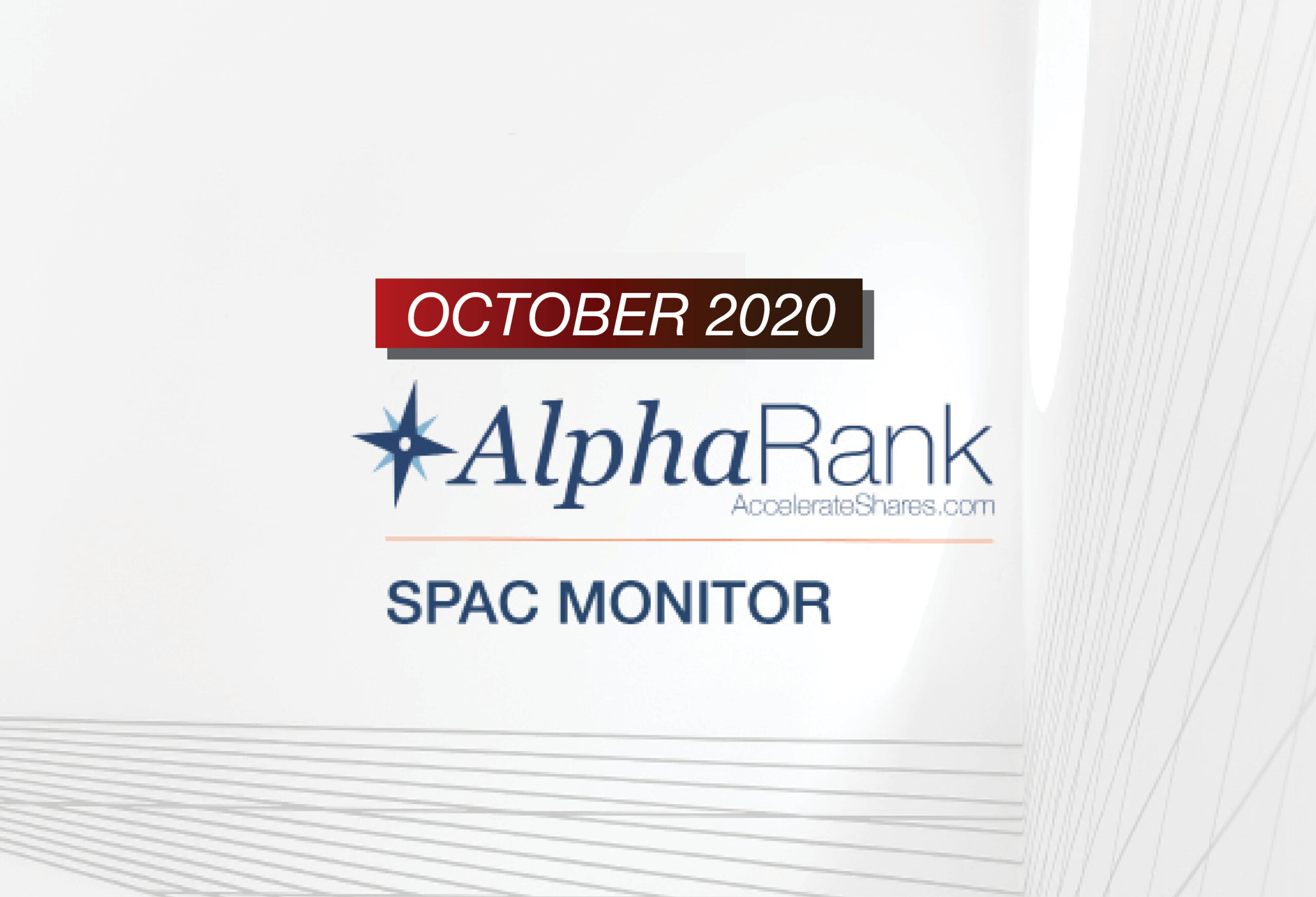 AlphaRank SPAC Monitor – October 2020