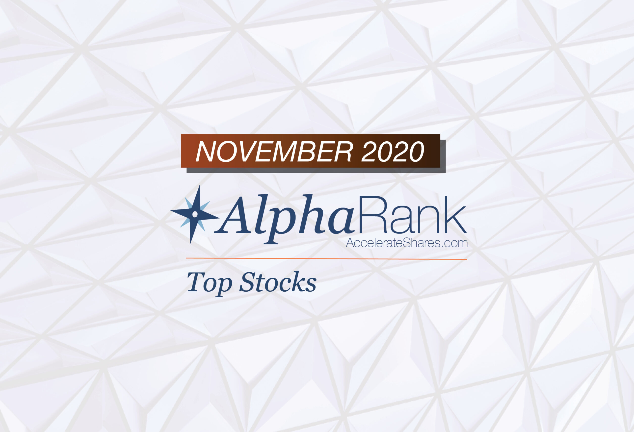 AlphaRank Top Stocks- November 2020