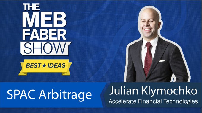 The Meb Faber Show—Episode #263: Best Idea Show – Julian Klymochko, SPAC Arbitrage