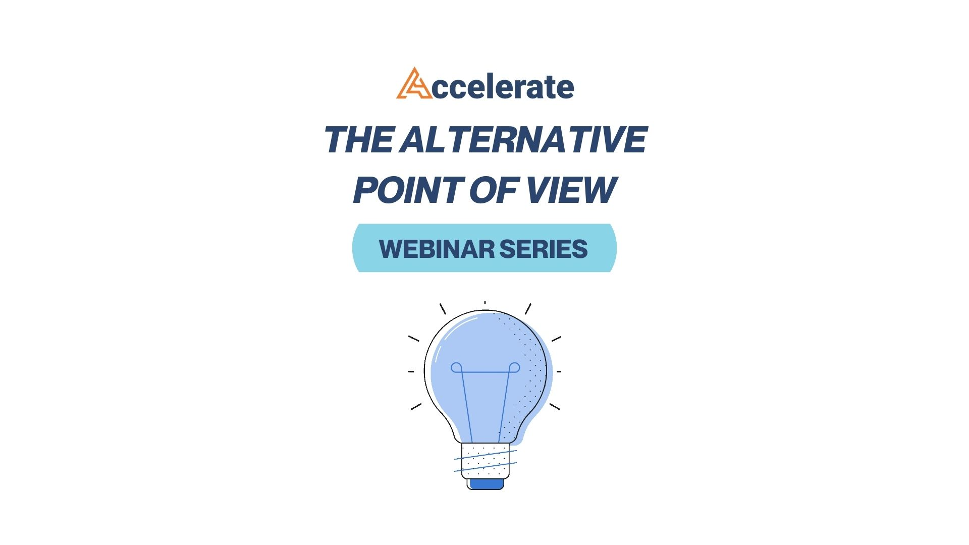 Alternative Point of View Webinar Series: SPAC Attack: How to Invest in SPACs in the Current Market Environment