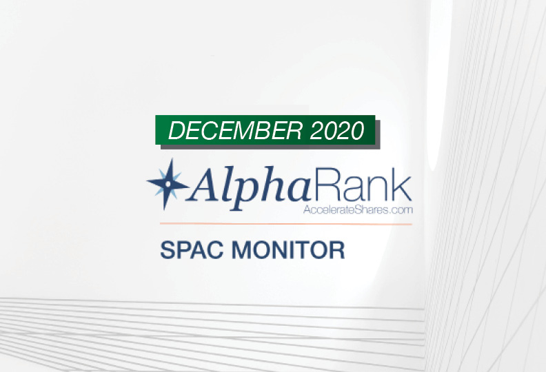 AlphaRank SPAC Monitor- December 2020