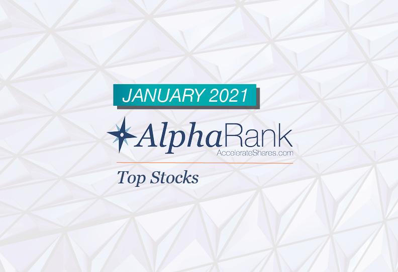 AlphaRank Top Stocks- January 2021