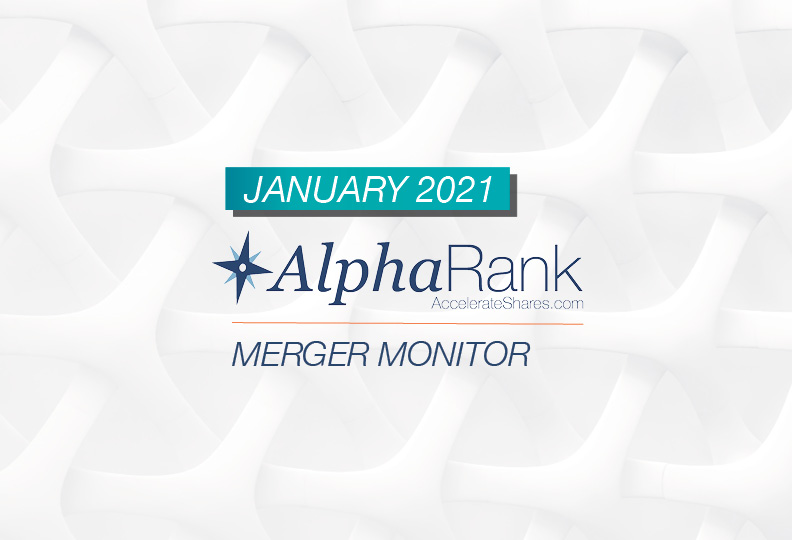 AlphaRank Merger Monitor – January 2021
