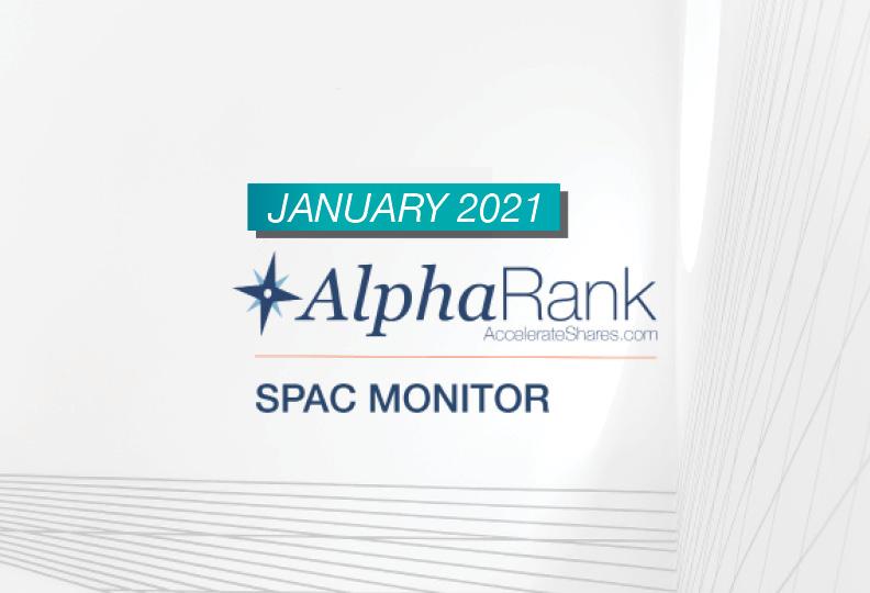 AlphaRank SPAC Monitor- January 2021