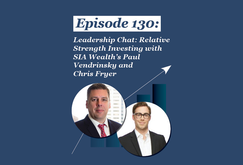 Absolute Return Podcast #130: Leadership Chat: Relative Strength Investing with SIA Wealth's Paul Vendrinsky and Chris Fryer