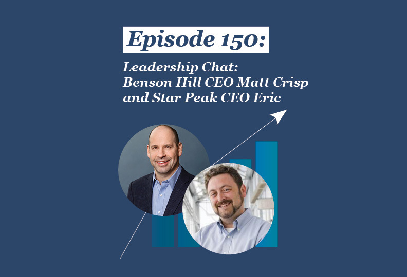 Absolute Return Podcast #150: Leadership Chat: Benson Hill CEO Matt Crisp and Star Peak CEO Eric Scheyer